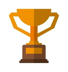 Trophy winner award american football vector