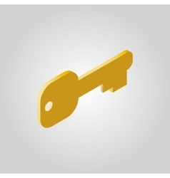 The key icon Open and unblock unlock close vector image