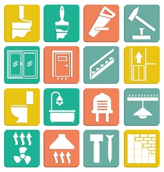 Set icons repair vector