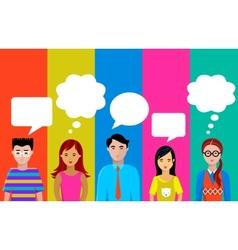 People talk vector