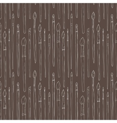 Brush pattern vector