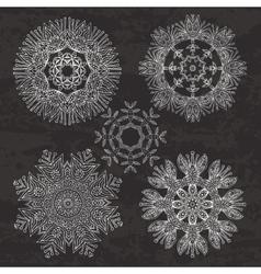 circular patterns vector image vector image