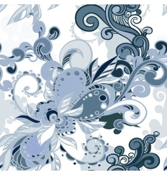 Floral seamless background pattern wallpaper vector image vector image