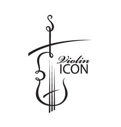 image of violin vector image