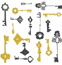 Keys10 vector image