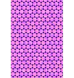 Polygon style seamless pattern vector image