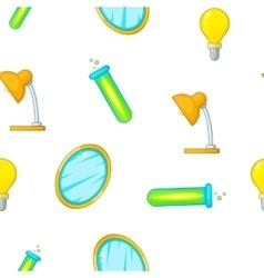 Glow pattern cartoon style vector