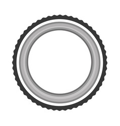 Lens photographic isolated icon vector