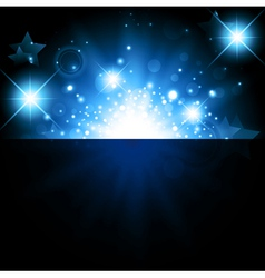 bright night background vector image vector image