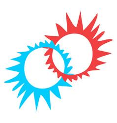 Creative circle symbol vector
