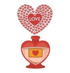 Love letter design vector