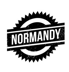 Normandy rubber stamp vector