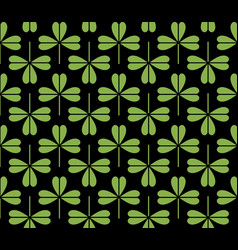Greenery eco foliage seamless pattern background vector