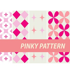 Pinky patterns vector
