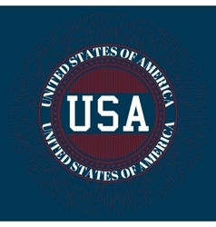 Stock logo usa vector
