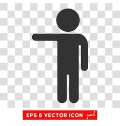 Child show eps icon vector