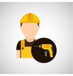 Construction tools design vector