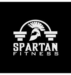 Spartan fitness design template vector