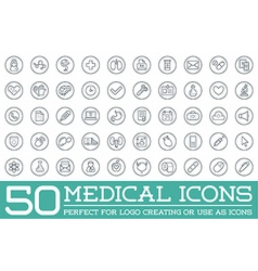 Medicine health symbols icons can be used as vector