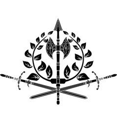victory simbol vector image