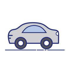 car transportation tool decoration design vector image