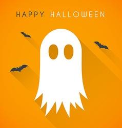 Happy halloween card vector image vector image