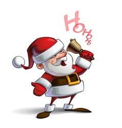 Happy santa ho ho ho vector