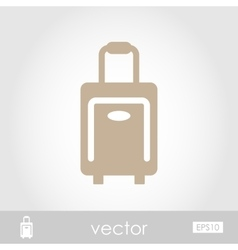 Traveling Bag icon vector image vector image