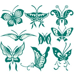 Fancy butterfly vector