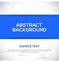 Blue 3d background vector