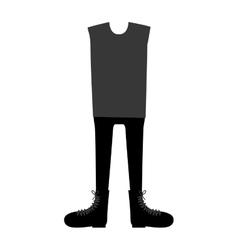 Fashion clothes design vector