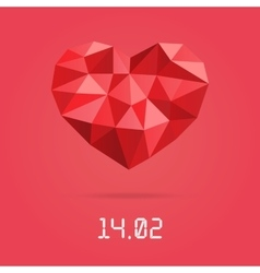 Happy valentines day design template low vector