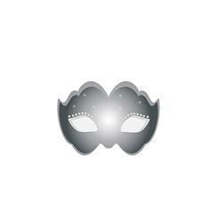 Mask silver vector