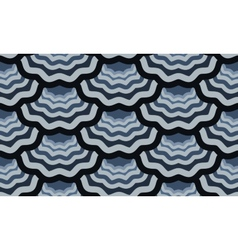 Seamless scale wavy pattern vector
