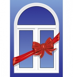 windows as a gift vector image