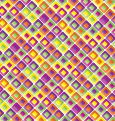colored squares vector image
