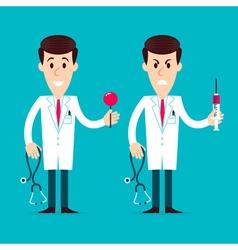 Doctors Characters vector image