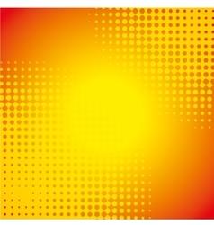 orange wallpaper design vector image