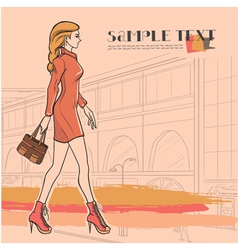 Urban fashion vector