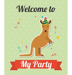 Party invitation vector