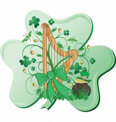st patrick day graphic vector image