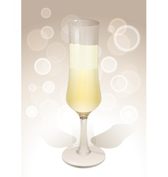 Wineglass background vector