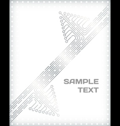 Abstract template vector image