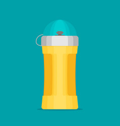 Water bottle flat design - eps 10 vector