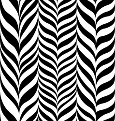 Freehand zebra herringbone vector