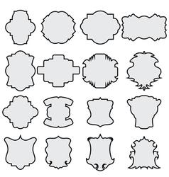decorative frames vector image