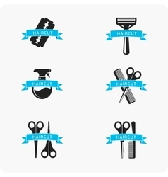 Hair cut accessories vector
