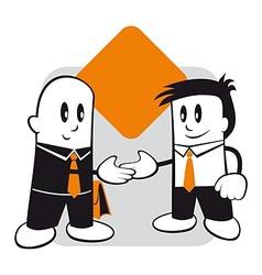 Handshake and agreement vector image
