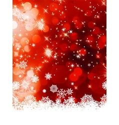Multicolor christmas with snowflake EPS 8 vector image