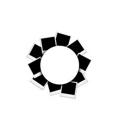 polaroid vector image vector image